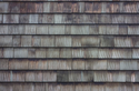 A picture of clean wood shingles