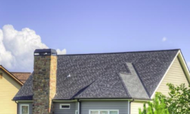 A picture of a sunny clean roof with no moss, lichen or grime