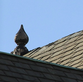 A picture of a clean roof decoration